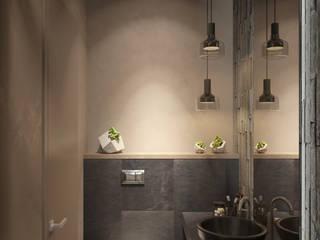 Bagno eclettico di Студия авторского дизайна ASHE Home Eclettico