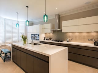 Family Kitchen Moderne keukens van Elan Kitchens Modern
