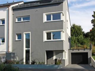 Neubau Doppelhaushälfte:  Häuser von SIGRUN GERST ARCHITEKTUR