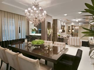 Dining room by SoHo arquitetura,