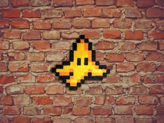 Tapis Pixel Art – Banana peel! – 16x16px par Le Marcassin Ailé Éclectique