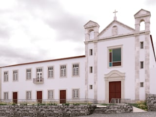 David Bilo | Arquitecto Rustic style house Stone White