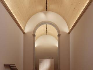 David Bilo | Arquitecto Pasillos, vestíbulos y escaleras de estilo minimalista Madera