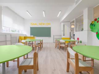 모던 스타일 학교 by Tarimas de Autor 모던
