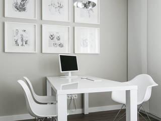 gabinet lekarski: styl , w kategorii Szpitale zaprojektowany przez ALEKSANDRA interior design studio