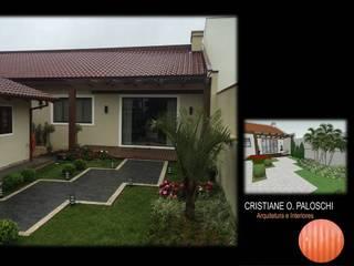 Casas de estilo  por Cristiane O. Paloschi Arquitetura, Moderno