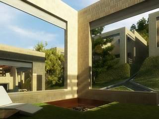 Pinar del lago: Casas de estilo  por 57uno Arquitectura, Moderno
