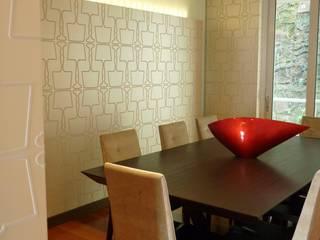 APTO 705 Peñas Blancas: Comedores de estilo  por 57uno Arquitectura, Moderno