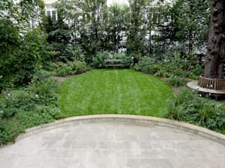ELLIPSE: Jardin de style  par Eymin paysagistes