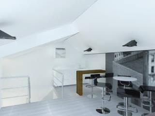 Modern dining room by ARQFACTORY FIRMA DE ARQUITECTURA Modern