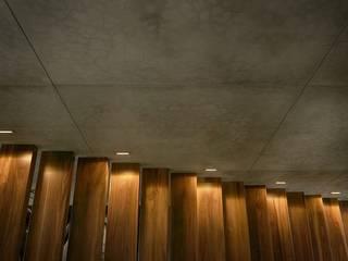 Corredores, halls e escadas modernos por Héctor Gómez Arquitecto Moderno
