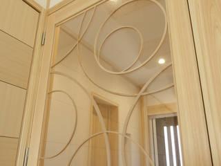 ナチュラルモダンな家の 建具 モダンスタイルの 玄関&廊下&階段 の 大谷建具技巧 モダン