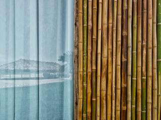 CASA EN PLAYA DEL CARMEN Casas rústicas de YUPANA Arquitectos Rústico Bambú Verde