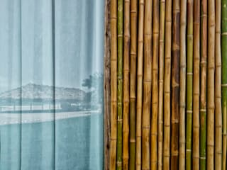 Casas de estilo rústico de YUPANA Arquitectos Rústico Bambú Verde