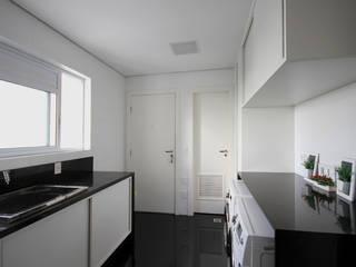Apartamento AS Cozinhas modernas por F:POLES ARQUITETOS ASSOCIADOS Moderno