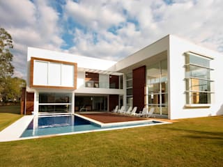 Residencia PG Casas modernas por F:POLES ARQUITETOS ASSOCIADOS Moderno