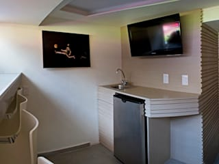 Media room by DIN Interiorismo , Modern