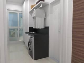 Apartamento   JR: Cozinhas  por ESSA Arquitetura