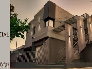 Oficinas sobre vivienda existente Estudios y oficinas modernos de Ignacio Tolosa Arquitectura Moderno