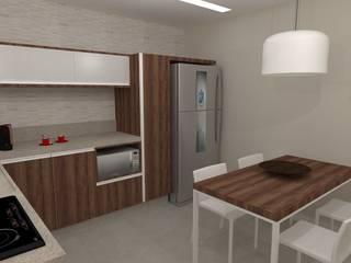 Apartamento   RL: Cozinhas  por ESSA Arquitetura