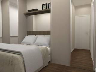 Apartamento   RL: Quartos  por ESSA Arquitetura