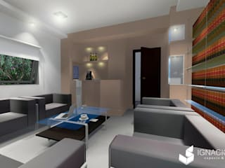 Sala de Reuniones Estudios y oficinas clásicos de Ignacio Tolosa Arquitectura Clásico