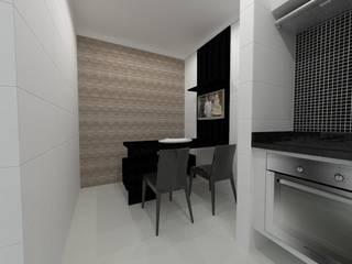 Apartamento   LS: Cozinhas  por ESSA Arquitetura