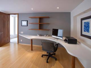 Oficinas y bibliotecas de estilo moderno de DIN Interiorismo Moderno