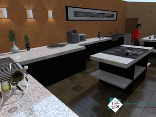 Cocina Huasca Cocinas rústicas de Estudio 289 Rústico