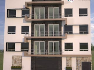 Condominio JK Casas modernas de Estudio 289 Moderno