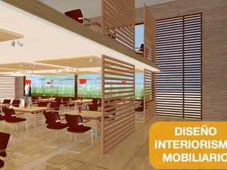 Офисные помещения в эклектичном стиле от Arquitectura Modular Residencial Comercial Interiorismo Эклектичный