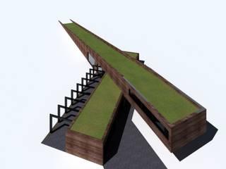 Dom w górach Minimalistyczne domy od KONTRAST STUDIO Minimalistyczny
