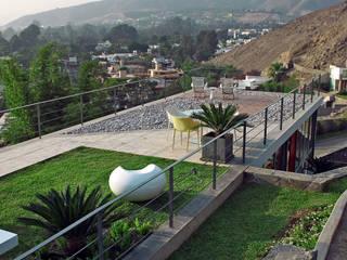 CASA MIRADOR: Casas de estilo  por NIKOLAS BRICEÑO arquitecto