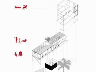 CASA MIRADOR de NIKOLAS BRICEÑO arquitecto Moderno