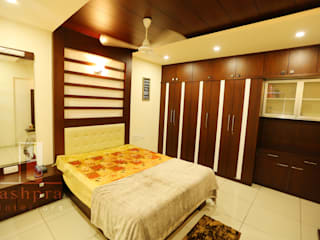 Interior work for a 2 bedroom apartment @ Mangalore..: asian  by Ashpra interiors,Asian