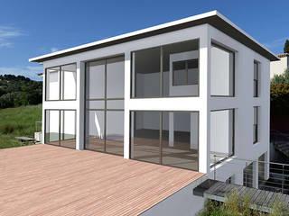 Extension Villa Allauch:  de style  par Agostini