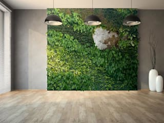 Green & Stone de Landscapers Moderno Piedra