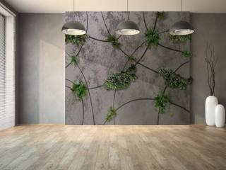 Green & Minimal de Landscapers Minimalista Cerámica