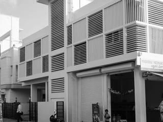 Lattice House BETWEENLINES Modern houses