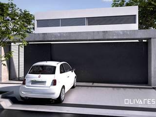 Vivienda 505: Casas de estilo moderno por Olivares