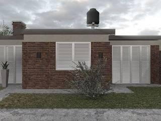 Remodelación fachada en Seguí:  de estilo  por Arquitectura GS