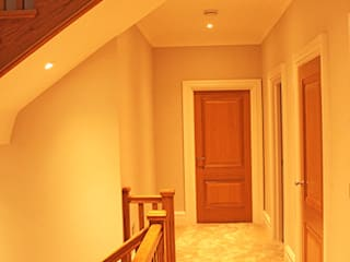 Project 10 Flairlight Designs Ltd Modern corridor, hallway & stairs