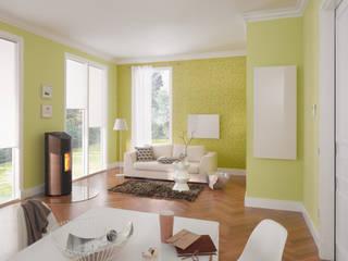 Pelletofen Moderne Wohnzimmer von wohnfeuer Modern