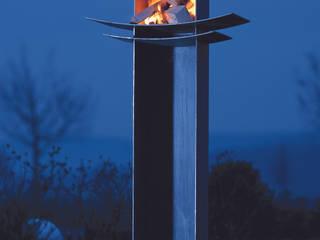 Feuerdesign Moderner Garten von wohnfeuer Modern