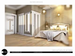 İç Mimarist – İzmir Alaçatı Butik Otel Oda Tasarımı:  tarz