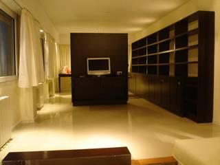 모던스타일 거실 by ArqmdP - Arquitectura + Diseño 모던