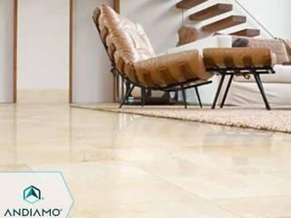 Trabajos Salas de estilo moderno de ANDIAMO (INVERSORA L&R) Moderno