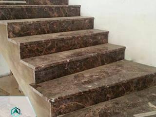Trabajos Pasillos, vestíbulos y escaleras de estilo moderno de ANDIAMO (INVERSORA L&R) Moderno
