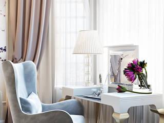 Habitaciones de estilo clásico de Александра Клямурис Clásico