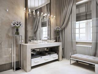 Кашино: Ванные комнаты в . Автор – Александра Клямурис